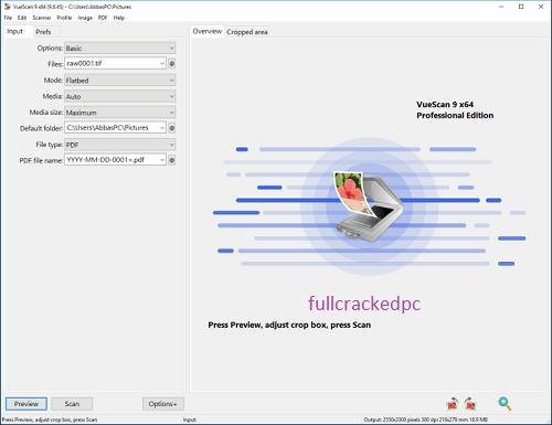 VueScan Pro 9.7.51 Crack + Keygen Full Serial Number 2021