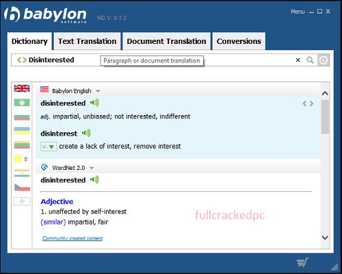 Babylon Pro NG 11.0.1.4 Crack + License Key Free Download 2021