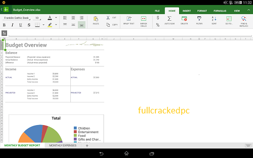 OfficeSuite Pro 11.3.35220 Crack + Serial Key [Latest Version] 2021
