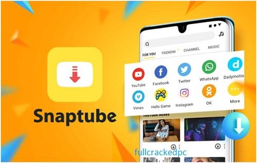 SnapTube - YouTube Downloader HD Video v5.14.0.5146210 Crack With