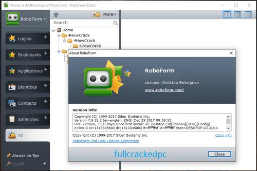 AI RoboForm Enterprise 9.1.7.0 Crack + License Key Free Download 2021