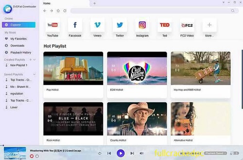 DVDFab Video Downloader 3.2.0.4 Crack + Keygen Full Free [Latest] 2021