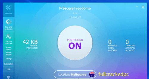 F-Secure Freedome VPN 2.41.6817.0 With Crack [Latest Version] 2021