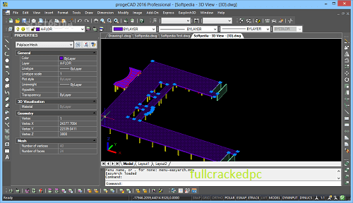 progeCAD 2021 Professional 21.0.6.11 Crack Full Version Free Download