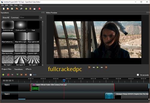 OpenShot Video Editor 2.5.1 Crack + Serial Key 2021 Full Version [Latest]