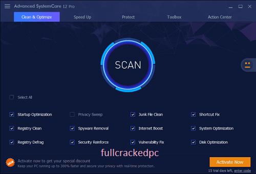 Advanced SystemCare Pro 14.5.0 Crack + License Key Download 2021