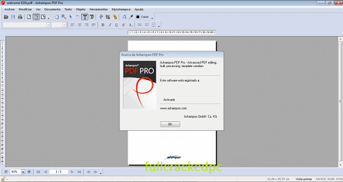 Ashampoo PDF Pro 2.1.0 Crack + Latest Keys Free Download 2021