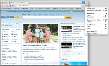 Maxthon Cloud Browser 5.2.4.100