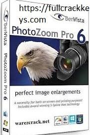 Benvista PhotoZoom Pro 8.0 Crack + License Key Free Download 2019