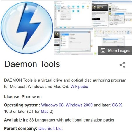 DAEMON Tools Lite 10.12 Crack With Serial Number 2020 Latest