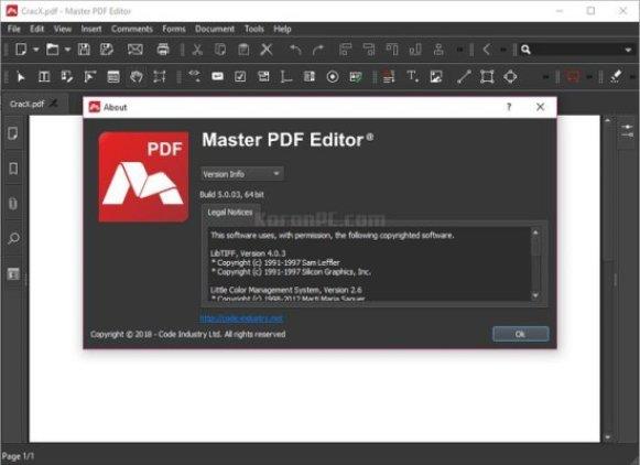 Master PDF Editor 5.7.0 Crack Registration Code (Latest Version)
