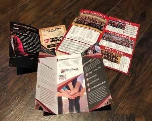 Brochures, Sports Programs, Flyers