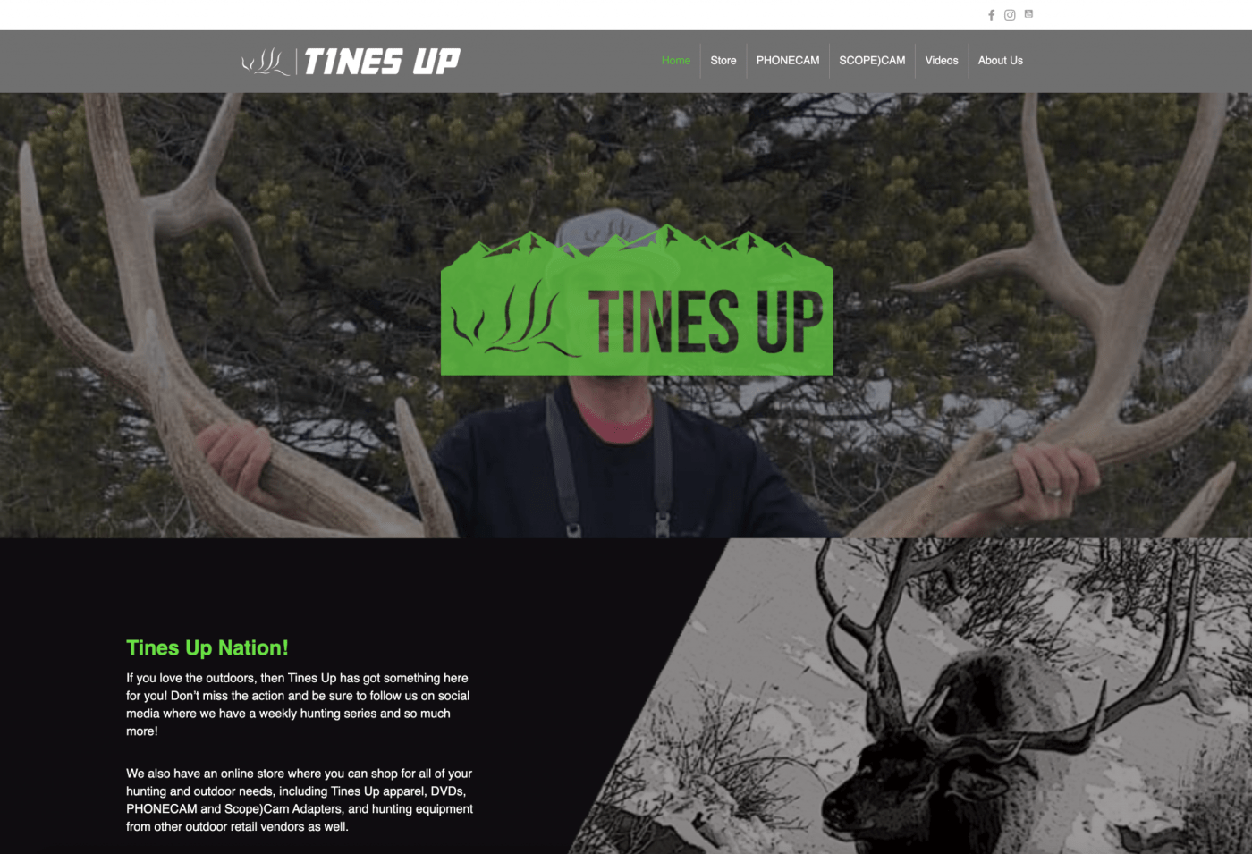 Tines Up