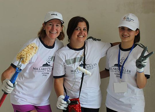 Report and photos from the Millard Fuller Legacy Build in Armenia