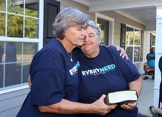 Church, Fuller Center volunteers dedicate new home in Ocean Springs, Miss.