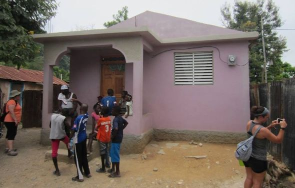 Fuller Center home in Pignon, Haiti.