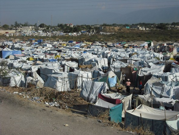 "Too many tents and ""transitional"" houses would become permanent in Haiti in the years following the 2010 quake."