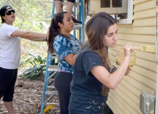 Volunteers repair Hammond, Louisiana, home badly damaged in storm 8 years ago