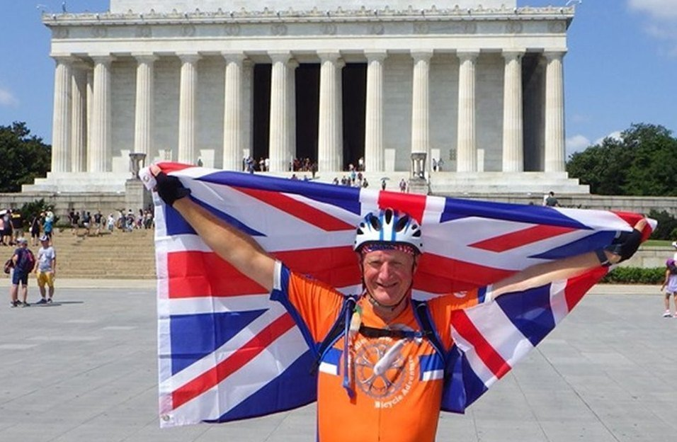 Englishman Tim Bruce rode cross-country with the Bicycle Adventure and fell in love with our ministry.