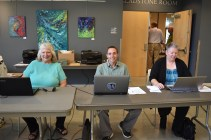 We couldn't have done it without our awesome registration volunteers!