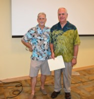 FCH Board members Graham Houston (left) and Carl Kimbrell (right)