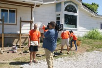 Media coverage of the FCBA build day