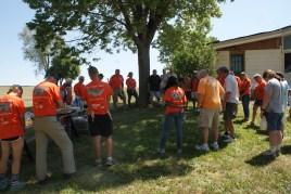 Media coverage of the FCBA build day