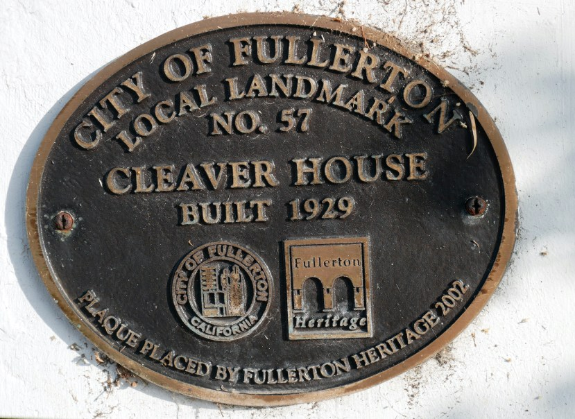 local landmark plaque