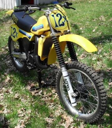 1981 Suzuki RM125