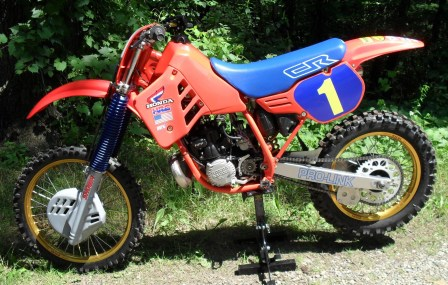 1986 Honda CR250