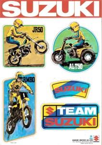 mini stickers RM80 JR50 ALT50