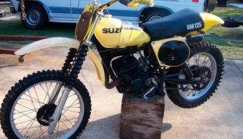 1980 SUZUKI RM125 - AL - Full Floater Suzuki RM Vintage