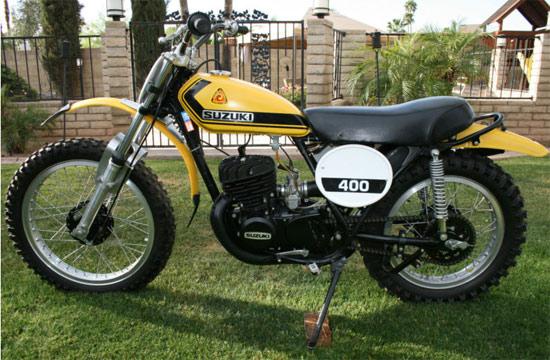 1974 Suzuki TM400