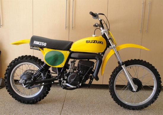 1976 Suzuki RM250A