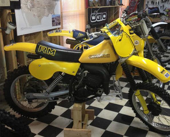 1980 Suzuki RM100