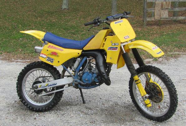 1986 Suzuki RM125