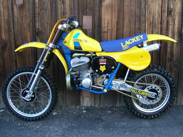 1984 Suzuki RM 500 RN500 Lackey Works Replica
