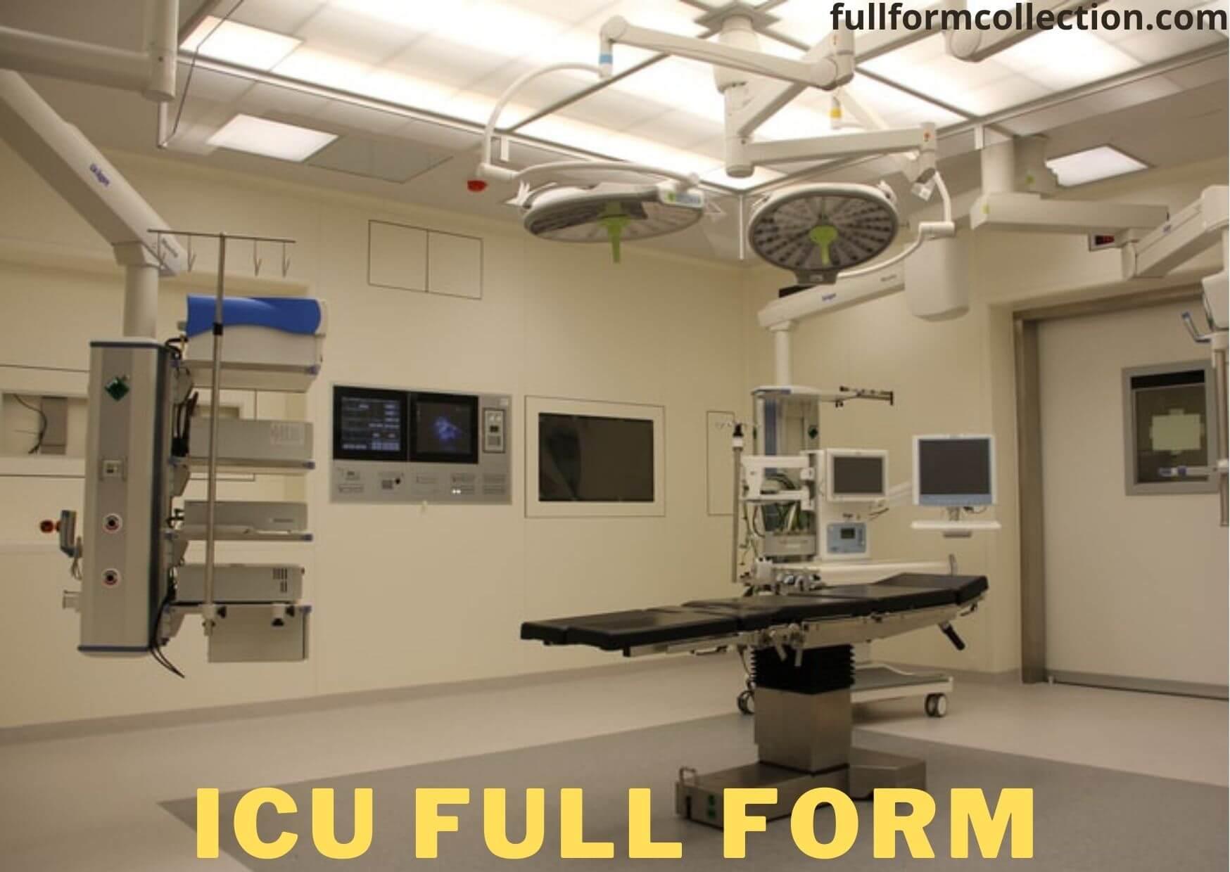 ICU Full Form