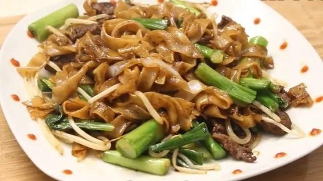 Pho Ap Chao Bo Recipe