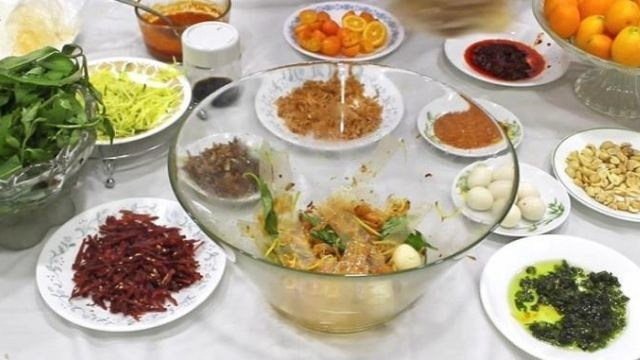 Sate Rice Paper Salad Recipe