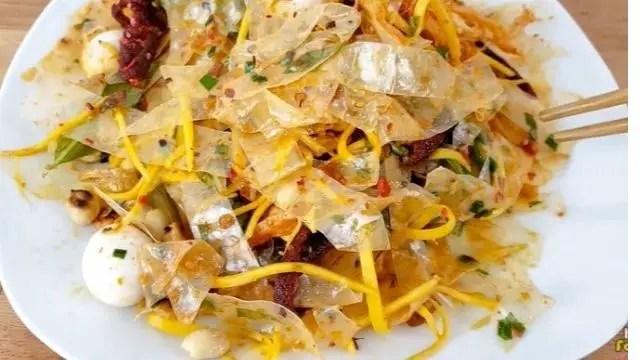 Vietnamese Rice Paper salad