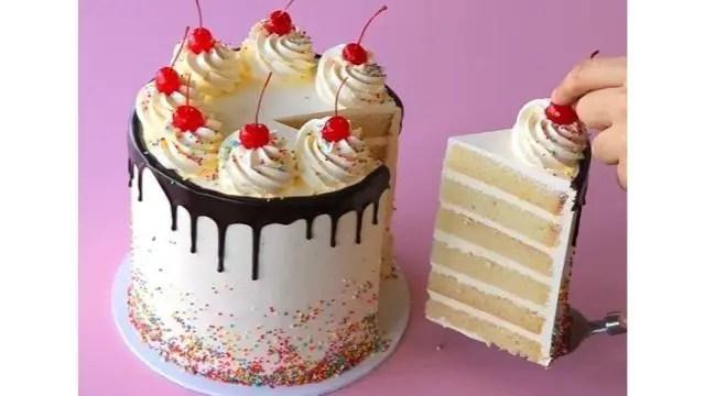 White Chocolate Vanilla Bean Mousse Cake Filling Recipe