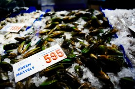 green mussels in SYDNEY