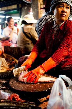 Siem Reap - The fish