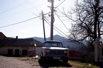 Serbia / old car