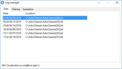 AdwCleaner 7.2.2.0 Serial Key
