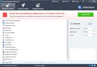Wise Registry Cleaner 10.26 Serial Key + Crack Full Download