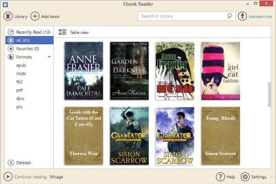 IceCream Ebook Reader 5.19 Crack + Keygen Full Version