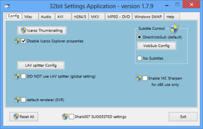 STANDARD Codecs 8.8.5 Crack For Windows 7/8.1/10