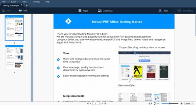 Movavi PDF Editor 3.1.0 Crack + License Key Free Torrent 2020